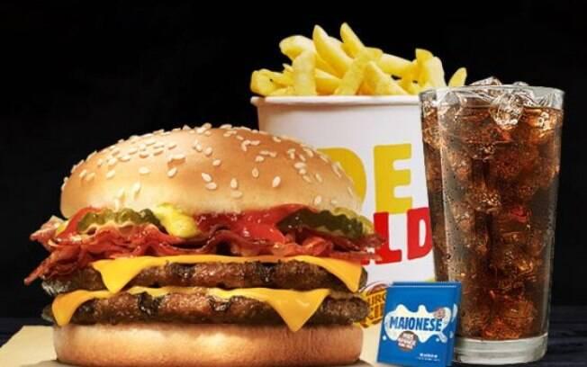 Burger King tem promoção especial com balde de batata durante a Black Friday
