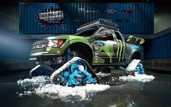 Após drifts em ruas, circuitos e até em balsas, Ken Block agora vai para a neve