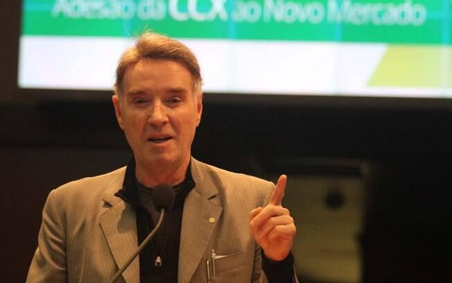 No dia 3 de fevereiro de 2013, Eike vende ativos da empresa de carvão CCX, na Colômbia, por US$ 125 milhões para a turca Yildrim. Foto: Elisa Rodrigues/Futura Press