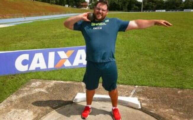Darlan é a maior chance de medalhas do Brasil no arremesso de peso