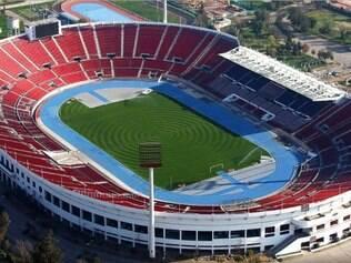 O estádio Nacional é a principal arena que vai receber jogos da competição sul-americana