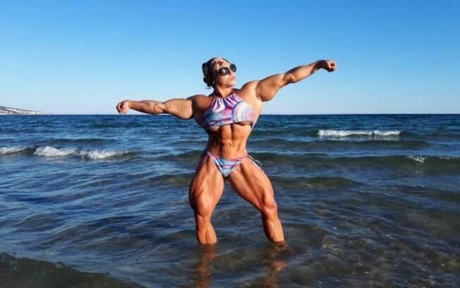Atleta da Rússia, Nataliya Kuznetsova, é comparada ao personagem Hulk