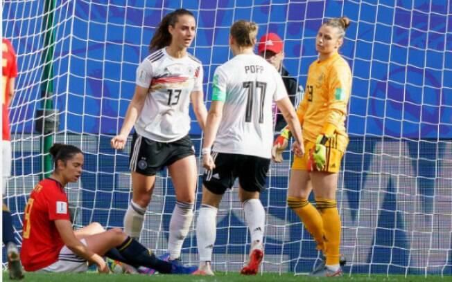 Alemanha venceu a Espanha por 1 a 0