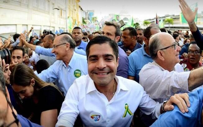 ACM Neto, presidente nacional do DEM e prefeito de Salvador