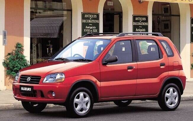 O pequeno Suzuki Ignis está mais para um subcompacto, mas acaba entrando para a lista dos SUVs que fracassaram