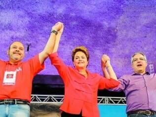 Sindicato. Dilma agradeceu o apoio da CUT à sua reeleição e se disse comprometida com os trabalhadores