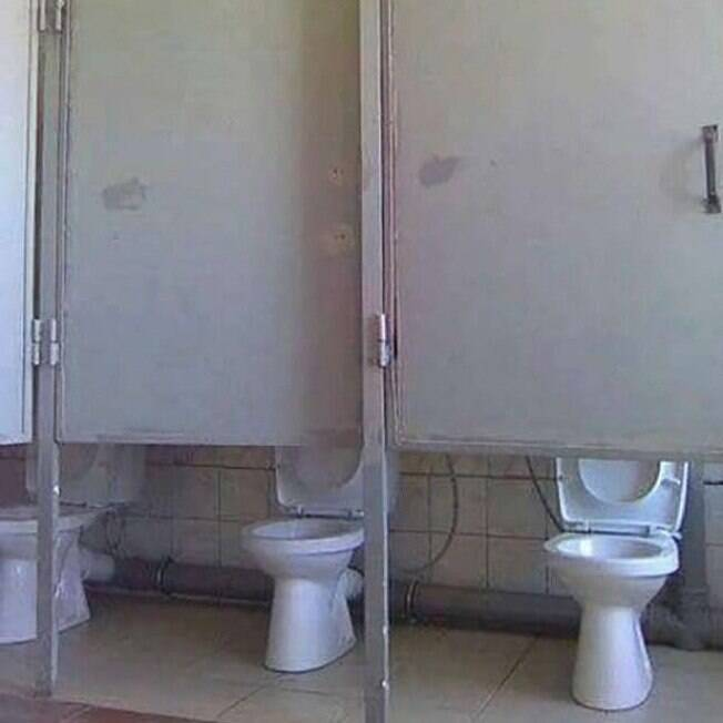 privada sem porta