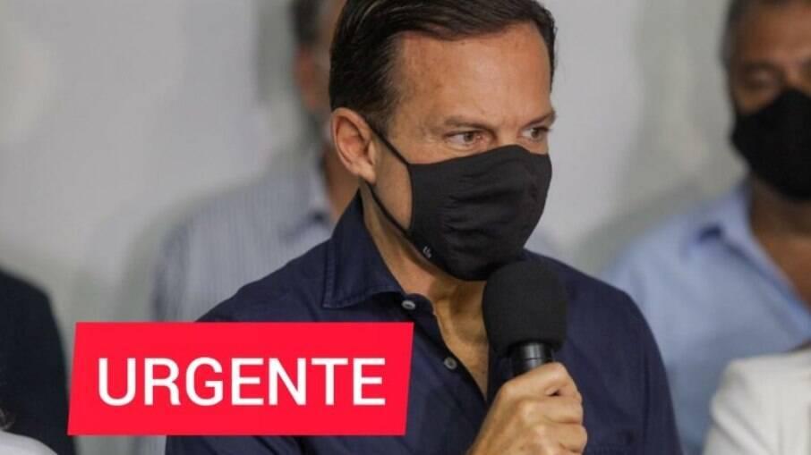 Governador João Doria confirma retorno do Paulistão