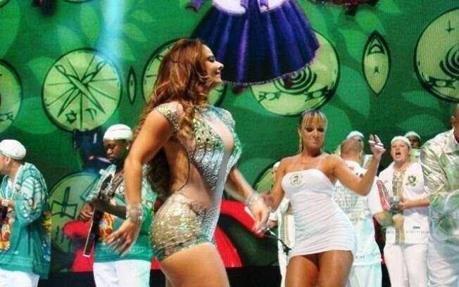 Juju Salimeni e Viviane Araújo levam a plateia ao delírio