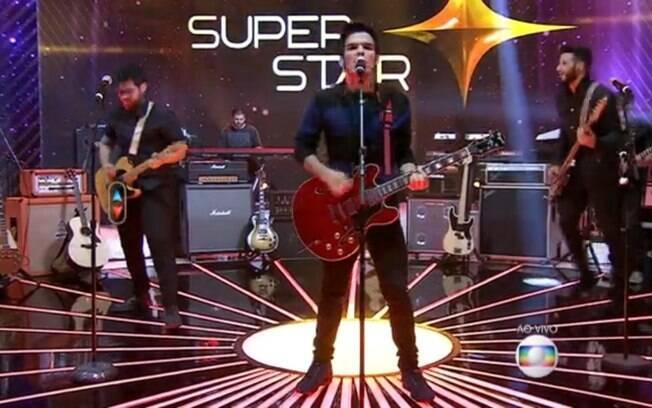 Apresentaçao da banda Versalle no dia 7 de junho revelou o uso de playback na competição. Foto: Reprodução/GShow