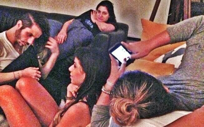 Anitta com Preta GIl e Ivete Sangalo em Salvador