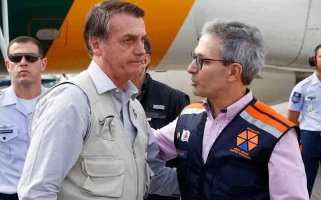 Jair Bolsonaro visitará Belo Horizonte a convite do governador de Minas Gerais, Romeu Zema