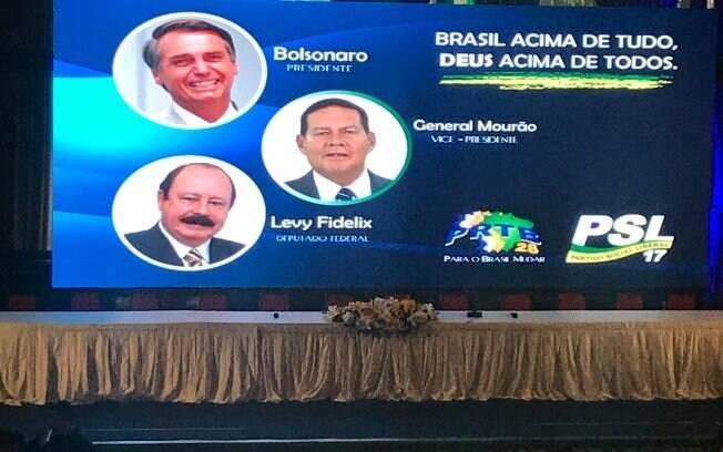 Convenção nacional do PRTB definiu general Hamilton Mourão como candidato a vice de Bolsonaro