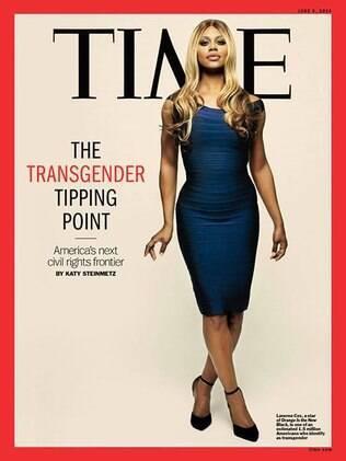 Estrela de 'Orange Is The New Black', Laverne Cox será capa da próxima edição da Time