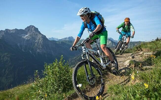 O mountain bike é uma categoria que se enquadra em esportes radicais e requer cuidados