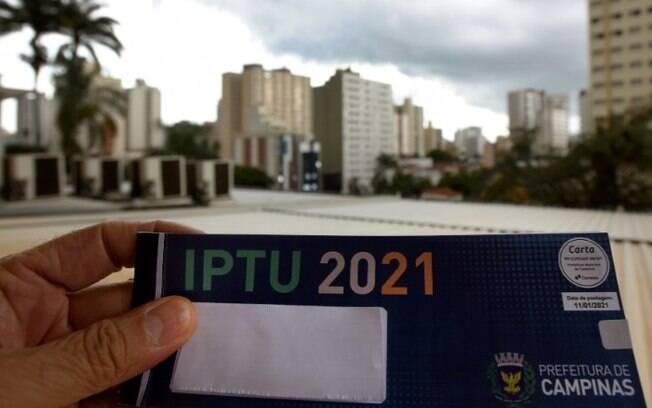 Campinas tem aumento de 8,6% na arrecadação do IPTU em 2021