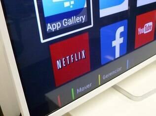 Netflix e Facebook são alguns dos apps instalados na TV