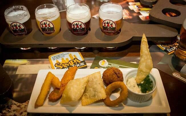 Roteiro do Sampa Beer Tour envolve quatro bares especializados em cerveja da capital paulista