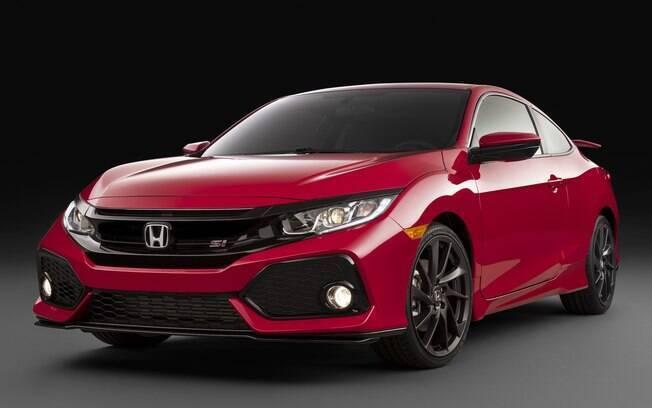 Honda Civic Si: nova geração do cupê terá visual arrojado e desempenho animador com  208 cv e câmbio manual