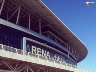 Arena do Grêmio está sendo utilizada como centro de treinamento
