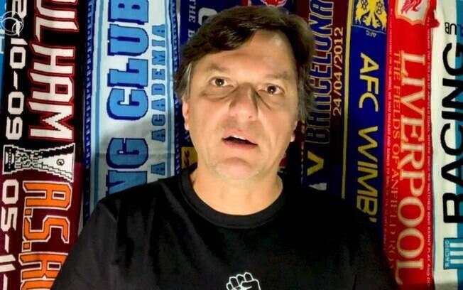 Após 16 anos na ESPN, Mauro Cezar anunciou sua saída