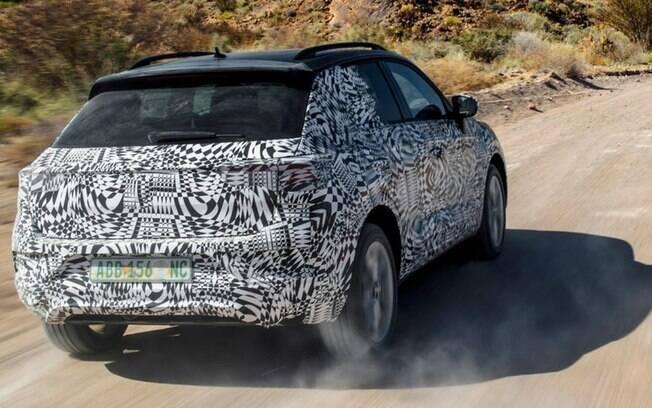Traseira também será diferente do que se está acostumado a ver nos modelos da Volkswagen ultimamente