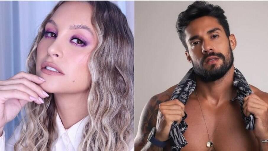 Carla Diaz e Bil Araújo flertam no Instagram