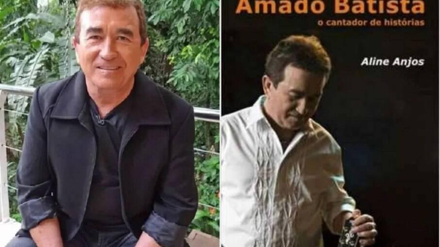 Autora da biografia de Amado Batista processa o cantor