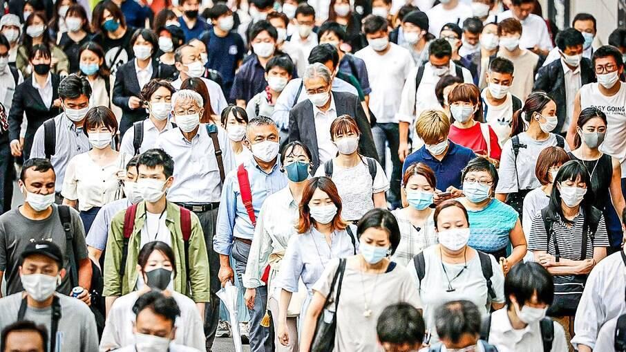 Tóquio segue com aumento de casos de covid-19