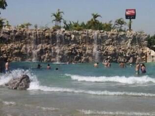 Parque aquático Thermas do Vale, em São José