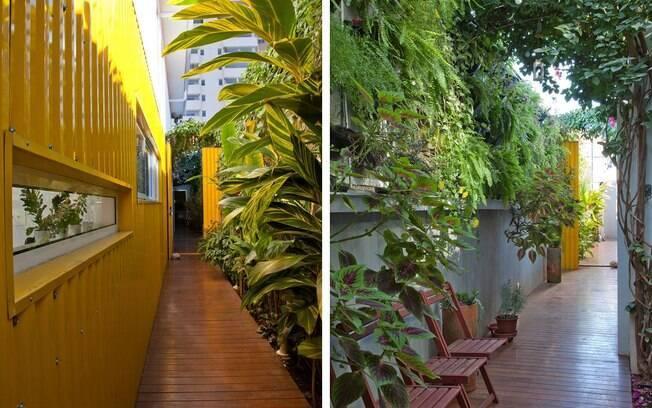 O plantas mostram o caminho para a ocupação da casa