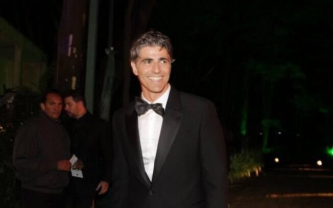Reynaldo Gianecchini no baile de Gala Brazil Foundation