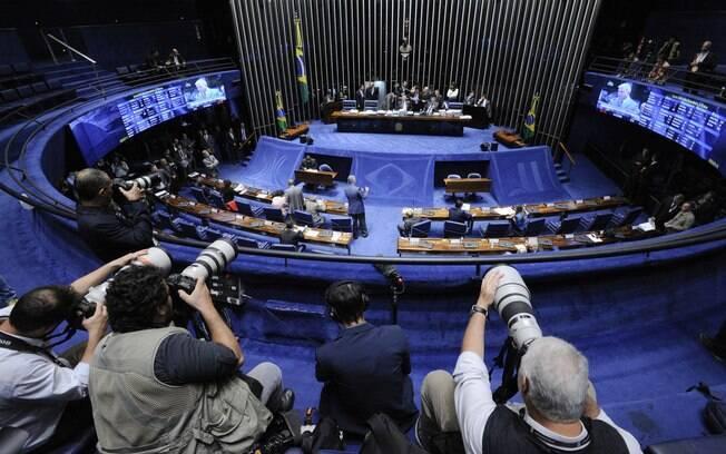 Projeto de lei sobre repatriação dos recursos foi colocado na pauta do Senado após reunião entre os líderes