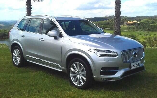 Volvo XC90: no outro extremo em relação ao Honda Civic Sport, o SUV reúne um belo pacote de alta tecnologia