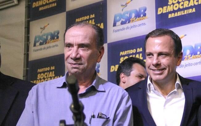 Aloysio Nunes (PSDB) será presidente da Investe SP durante a gestão do governador eleito João Doria (SP)