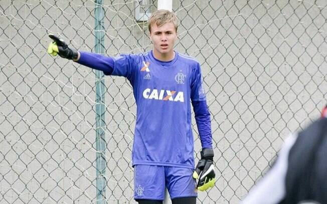 Bernardo Pisetta era goleiro e estava no Flamengo há pouco tempo. Foto: Facebook