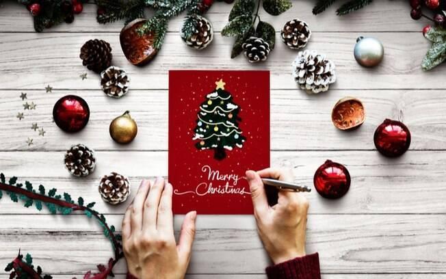Cartes de Natal: ideias criativas para presentear gastando pouco