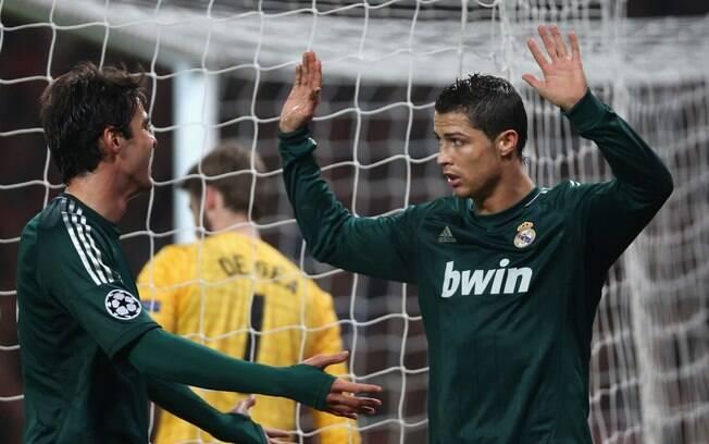 Autor do gol decisivo, Crisitano Ronaldo  evitou comemorar contra o ex-time