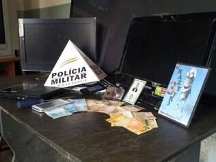 Materiais roubados pelo casal estavam dentro do Fiat Punto usado por eles no crime
