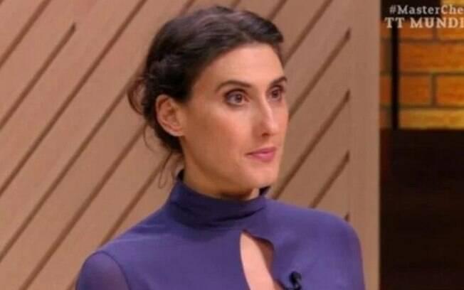 Paola Carosella deixa o 'MasterChef'