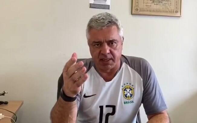 Major Olímpio não está mais apoiando Rafa Zimbaldi.