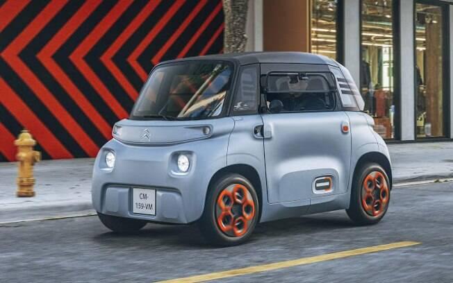Citroën Ami pode ser dirigido por pessoas com mais de 14 anos, mas apenas nas cidades e sem poluir o meio ambiente