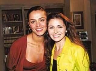 Vanessa e Giovanna em 'Laços de Família': 'Até hoje é uma festa quando nos encontramos'