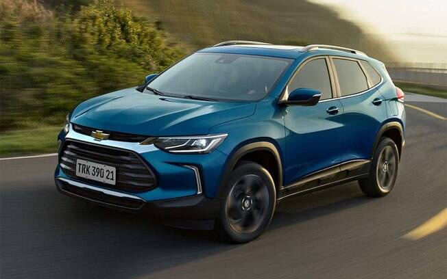 Chevrolet Tracker 2021 já aparece em primeiro lugar entre os SUVs mais vendidos em abril, quando o mercado despencou no Brasil