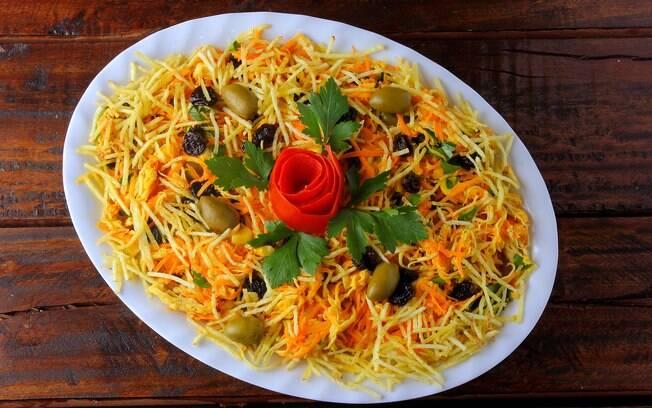 O salpicão é uma das entradas tradicionais no Natal; veja a receita completa