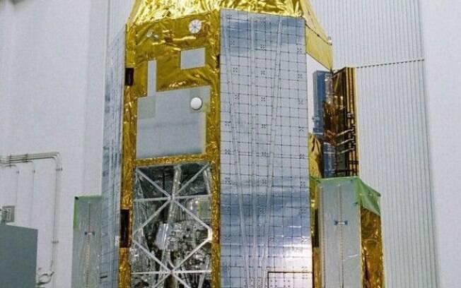 O satélite foi um investimento de US$ 273 milhões do governo japonês