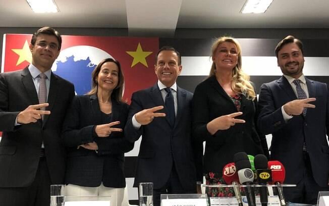 Bia Doria foi anunciada hoje para atuar no Fundo Social do futuro governo de seu marido, João Doria