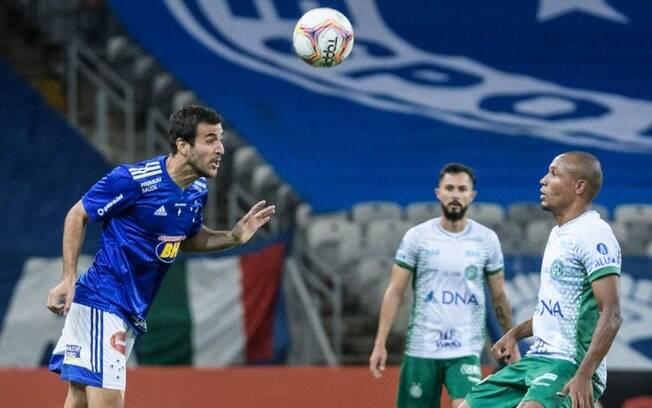 Em jogo cheio de gols, Guarani empata com o Cruzeiro