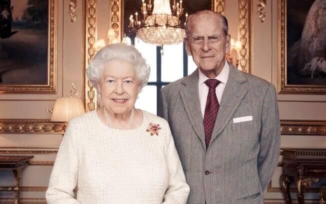 Rainha Elizabeth II e Príncipe Philip, seu marido