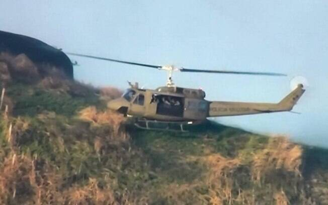 Forte tiroteio foi relatado por moradores do Morro do Barão